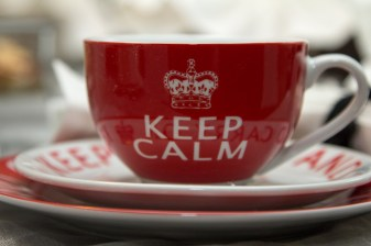 Keep Calm it's tea time