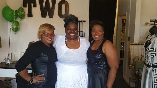 C.I.P. with Monica Parrot and Pam Dixon, co-owners of Two Boutique