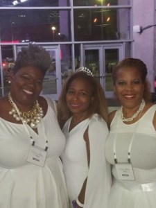 C.I.P. with our host Lisa Fisher and my blogging partner Rochelle Wharton of Culinary Vegg Out