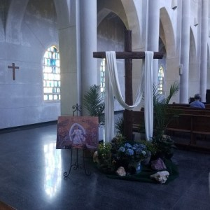 Inside the church...Monastery of The Holy Spirit