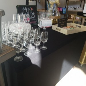 All ready to sample...Glass please