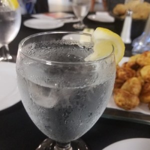 Because my friend says only I order water...ligth ice lemon on the side