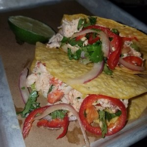 Shh...it's the secret taco at BarTaco..Lobster Salad T