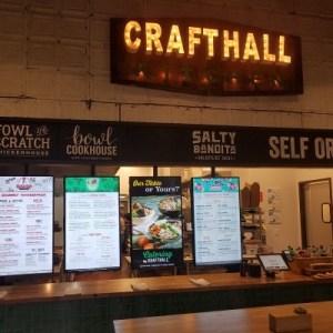 Welcome to Crafthall Kitchen 3 menus on restaurant