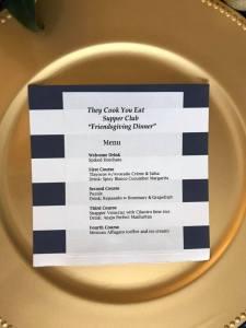TCYE menu