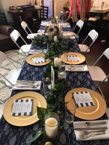 TCYE table setting