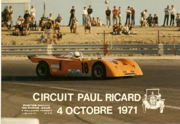 Chevron B10 at the 1971 Paul Ricard