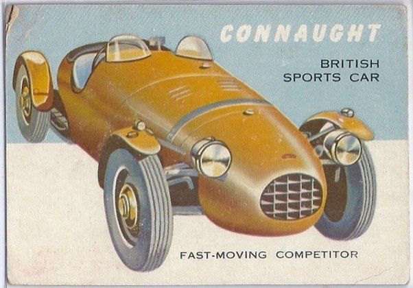 Connaught trading card