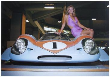 Porsche 917 on display