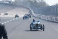Bugatti run at the Vintage Revival Montlhéry 2013