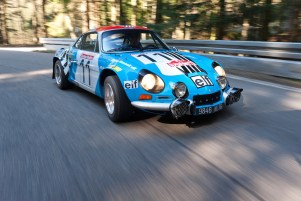 1973 works Alpine 110 after restoration