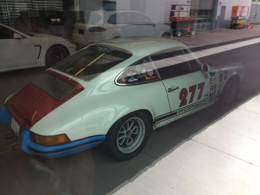 Magnus Walker's iconic 277 car-before the crash