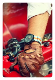 Vintage Driver Chrono by Straton