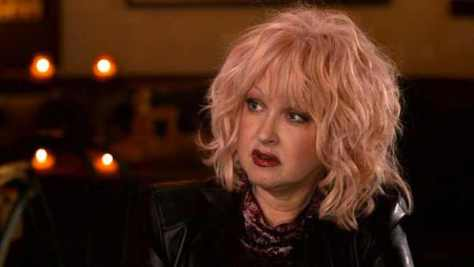 Pop singer Cyndi Lauper allegedly had to get a job in retail even after being signed to a record deal.