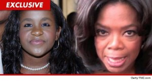 Bobbie Kristina and Oprah