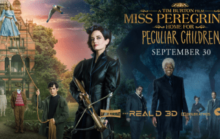 Miss Peregrines banner