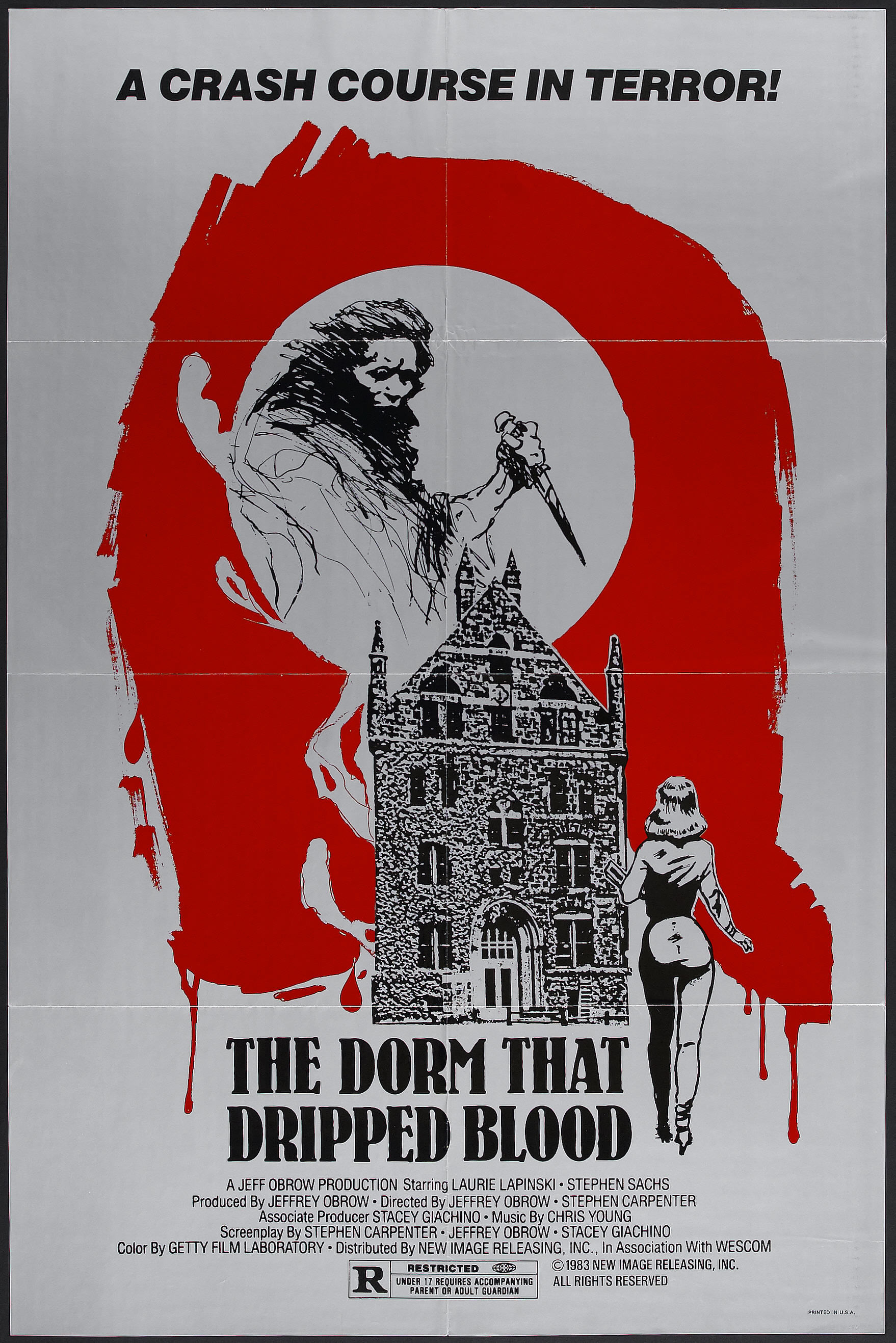 Poster do filme The Dorm That Dripped Blood