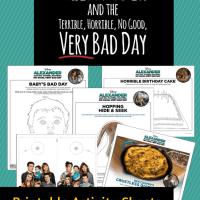 Alexander And The Terrible, Horrible, No Good, Very Bad Day Activity Sheets #disney #VeryBadDay #printables