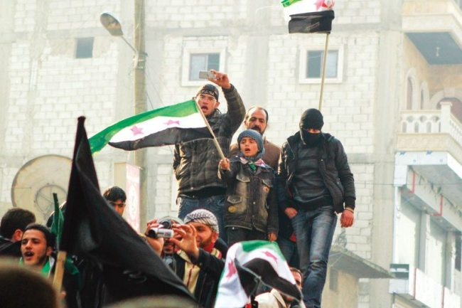 The inhabitants of Aleppo in Syria has faces a bloody civil war for almost two years.