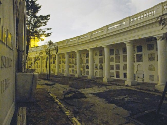 The Cementerio Central is an architectural masterpiece dating back to mid 19th century.