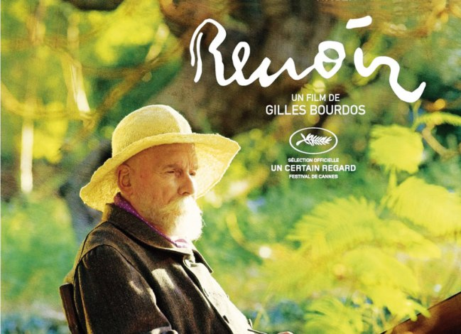 The movie poster of FRench film Renoir.