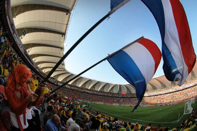 Photo by Crystian Cruz of the 2010 World Cup in SA.