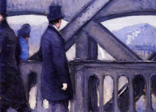 Pont Neuf by Gustave Caillebotte.
