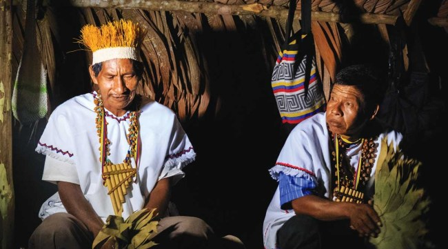 Natives of Colombia's Caquetá department met to establish their right to participate in government.