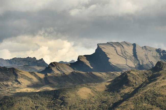 Chingaza's majestic moors rise high above Cundinamarca.