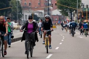 No Car Day in Bogotá