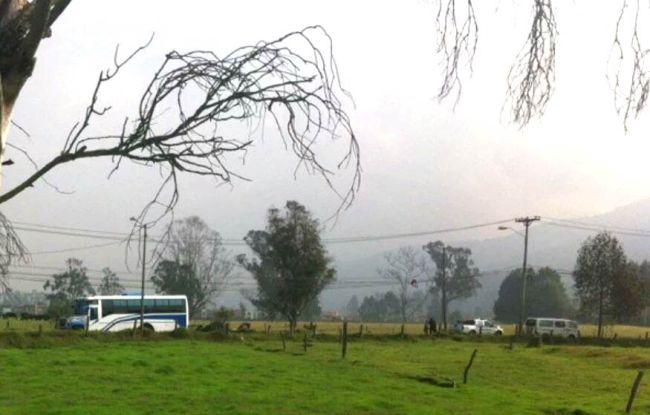 Explosion near Chía, Colombia