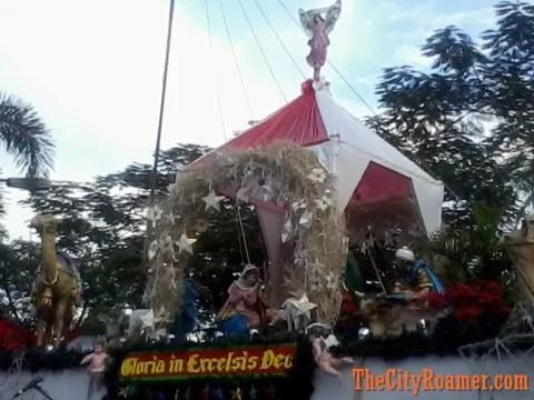 Araneta Center Belen Display at daylight