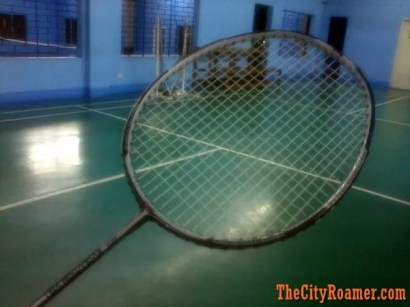 an RSL Badminton Racket