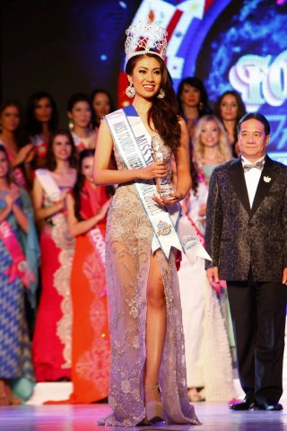 Miss Tourism International 2012, Rizzini Alexis Gomez