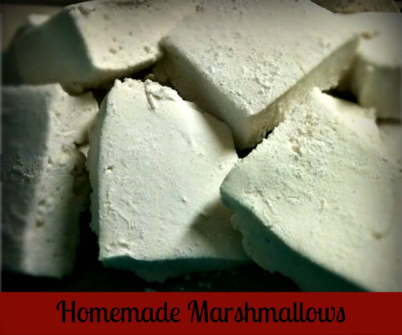 Homemade Marshmallows from The Coconut Mama
