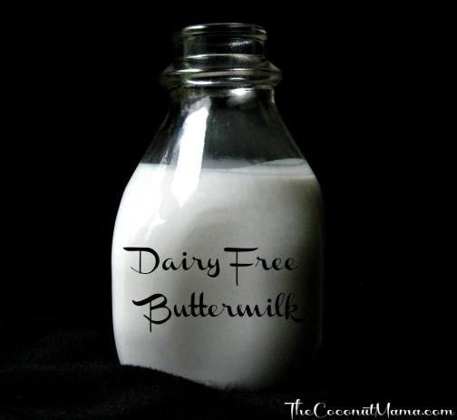Dairy Free Buttermilk Replacement