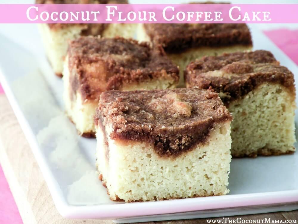 Gluten Dairy Sugar Free Cake Recipe Using Coconut Flour