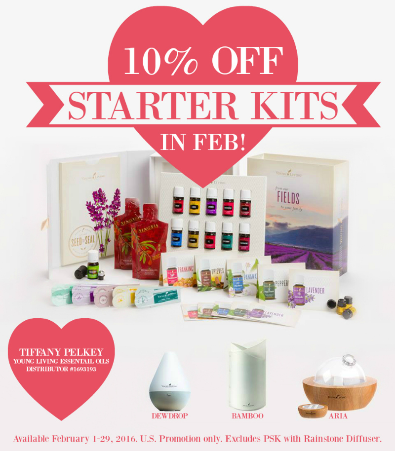 10% OFF Essential Oil Starter Kits!