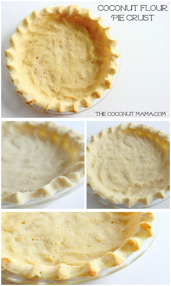 Coconut Flour Pie Crust