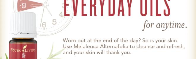 Melaleuca Essential Oil Giveaway