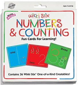 24 Wikki Stix Numbers and Counting Fun