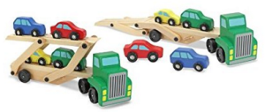 7 Melissa & Doug Car Carrier Truck and Cars