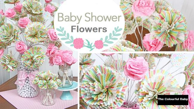 flowers for baby shower