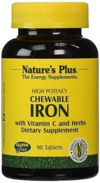 Iron supplement for anemia