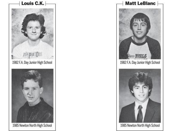 1982_yearbook_LouisCK_MattLeBlanc