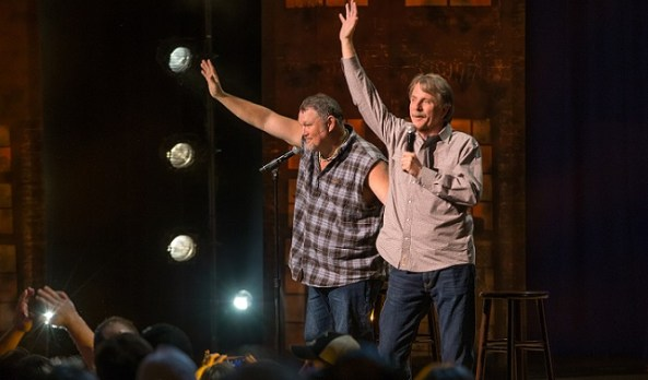 Two-fer-one gitting-r-done: Larry the Cable Guy and Jeff Foxworthy team up for Netflix stand-up special