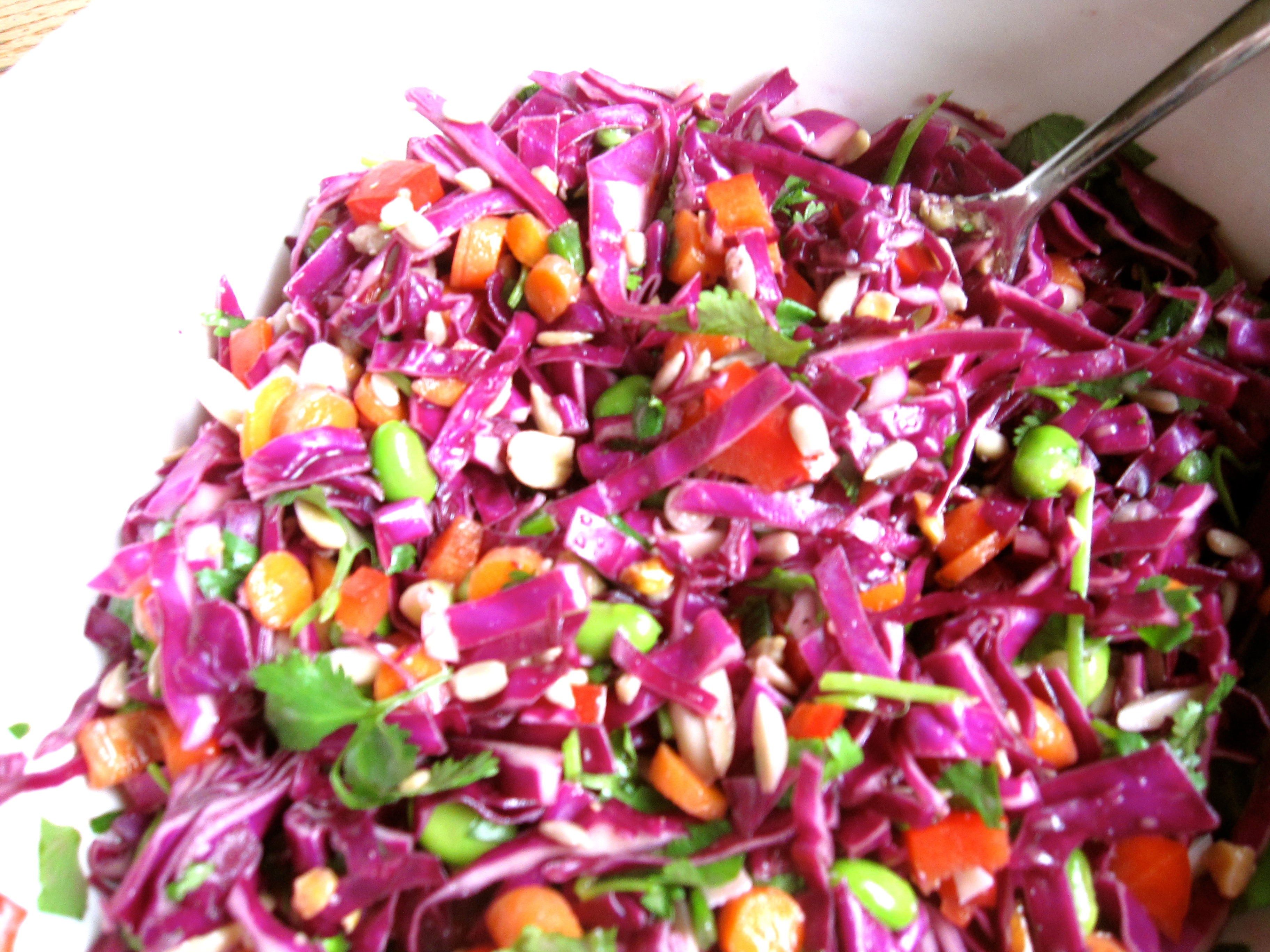 Asian red cabbage