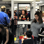 TSA pat downs.