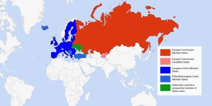 ukraine eu member map