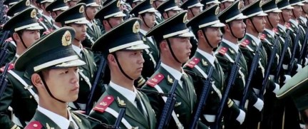 chinese are coming- military